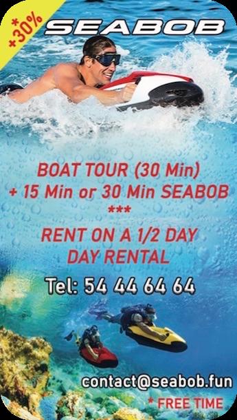 Seabob - Underwater scooter - Mauritius