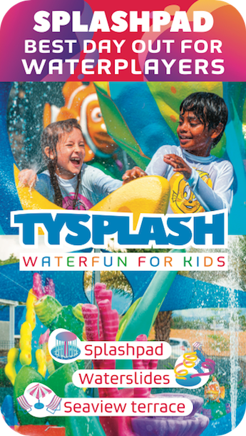 Tysplash - Water Park for children - Mauritius
