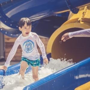 Tysplash parc aquatique activites toboggans enfants Cascavelle Ile Maurice